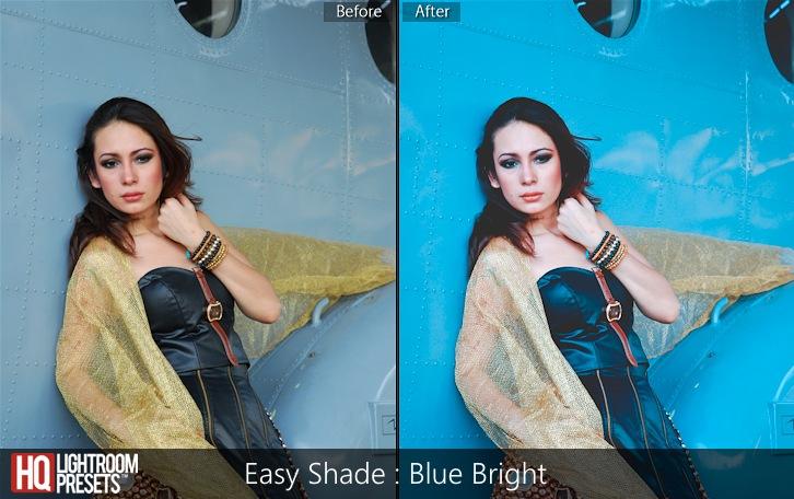 lightroom presets-Easy Shade - Blue Bright