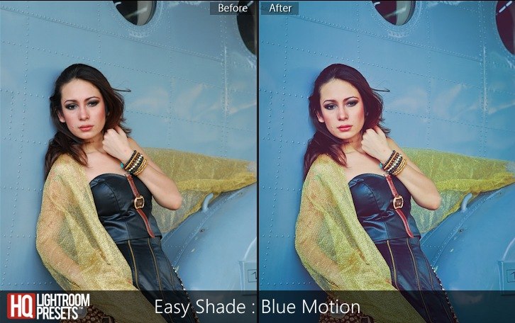 lightroom presets-Easy Shade - Blue Motion