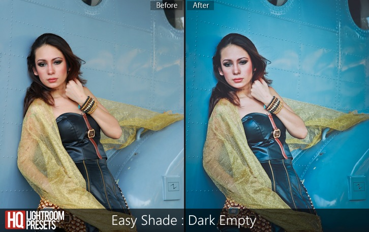 lightroom presets-Easy Shade -Dark Empty
