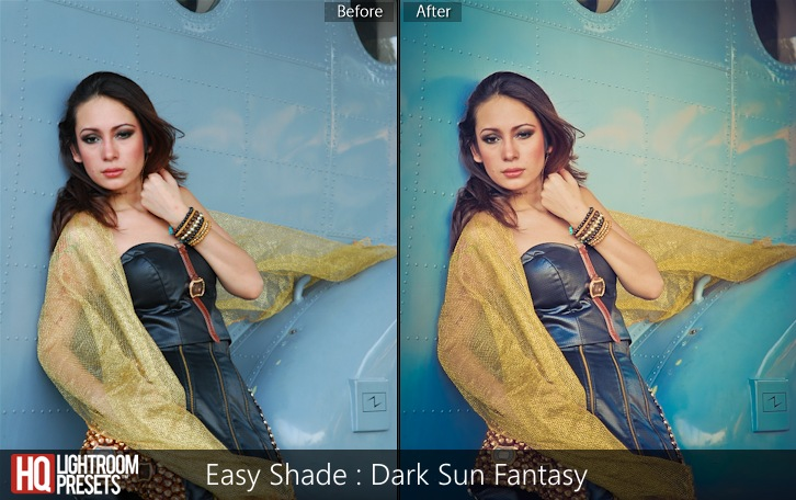 lightroom presets-Easy Shade - Dark Sun Fantasy