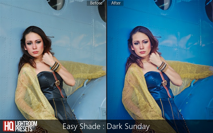 lightroom presets-Easy Shade - Dark Sunday