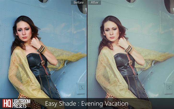 lightroom presets-Easy Shade - Evening Vacation