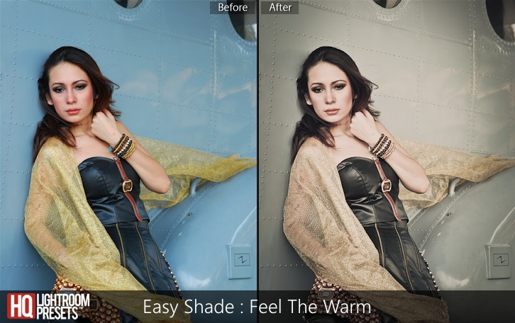 lightroom presets-Easy Shade - Feel The Warm
