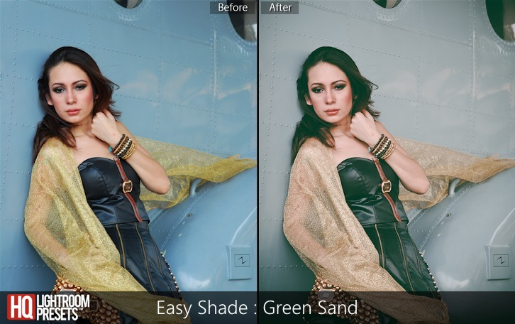 lightroom presets-Easy Shade - Green Sand