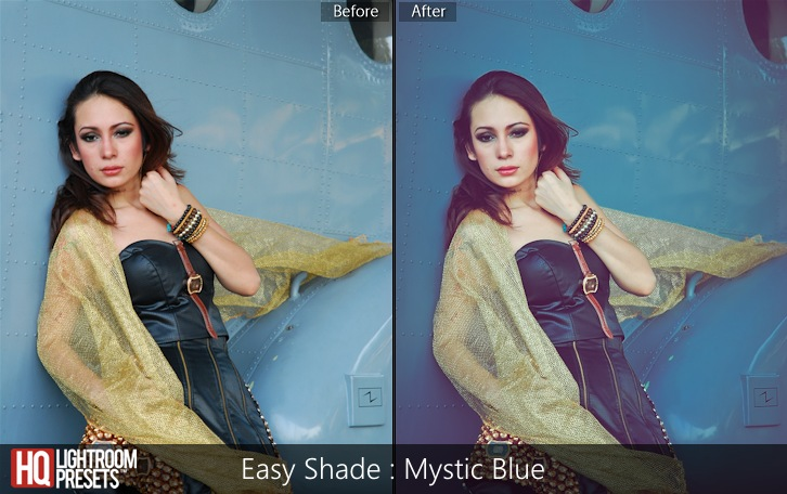 lightroom presets-Easy Shade - Mystic Blue