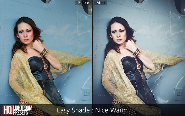 lightroom presets-Easy Shade - Nice Warm