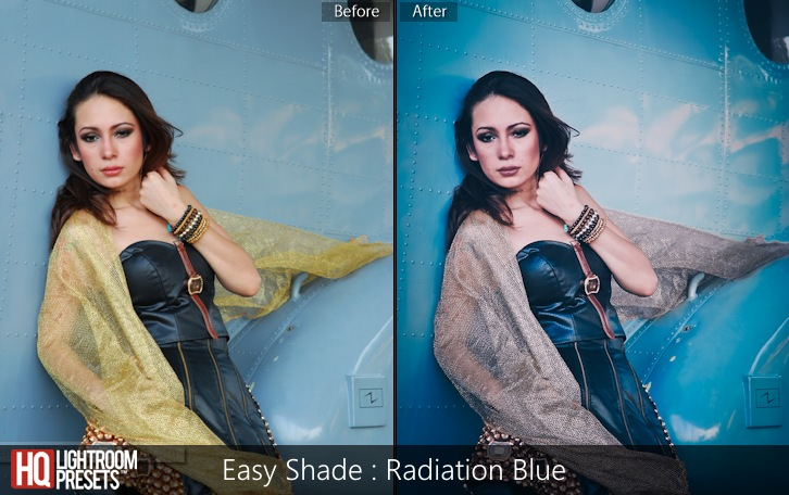 lightroom presets-Easy Shade - Radiation Blue