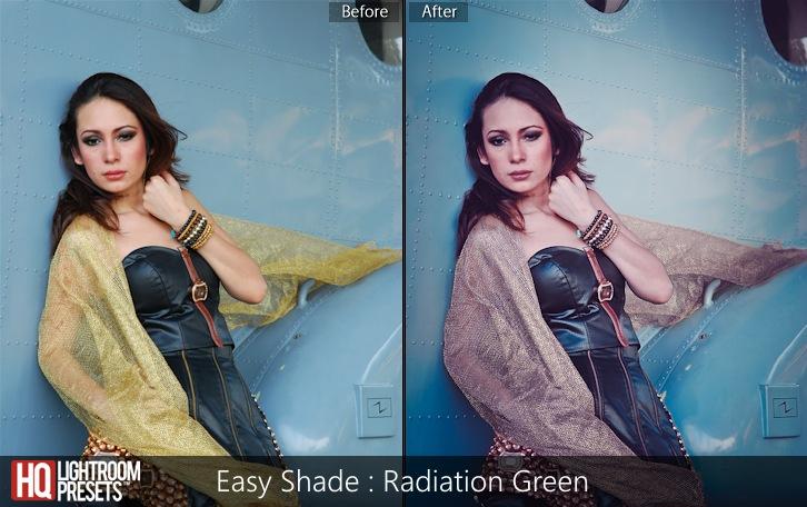 lightroom presets-Easy Shade - Radiation Green