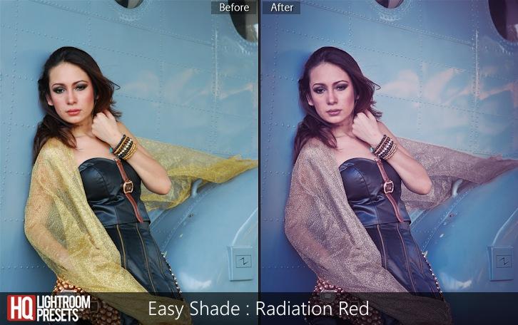 lightroom presets-Easy Shade - Radiation Red