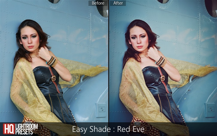 lightroom presets-Easy Shade - Red Eve