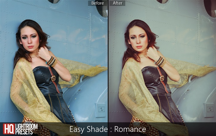 lightroom presets-Easy Shade - Romance