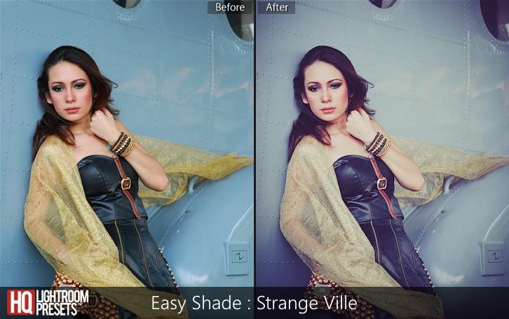 lightroom presets-Easy Shade - Strange Ville