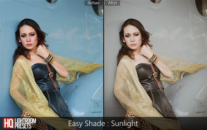 lightroom presets-Easy Shade - Sunlight