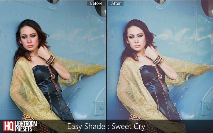 lightroom presets-Easy Shade - Sweet Cry