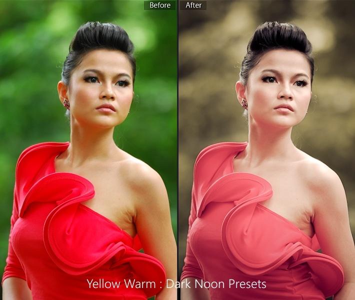 amarillo-calentamiento Lightroom-presets