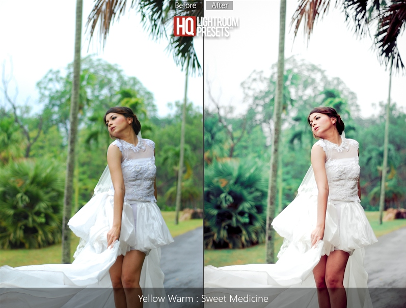 bride lightroom presets
