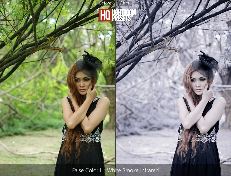 false color tone presets acr