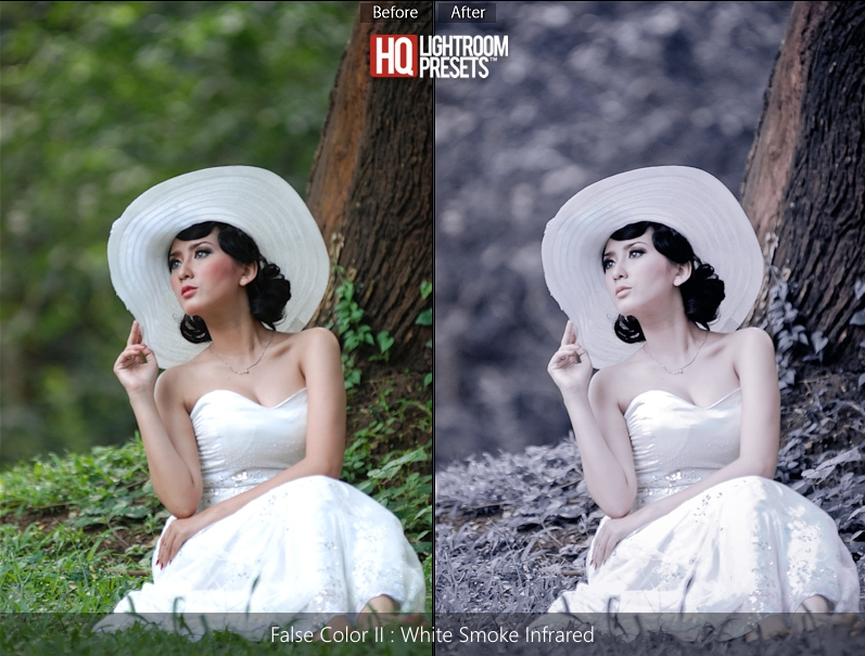 top false color presets for lightroom