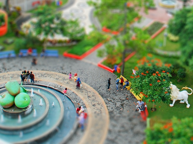 # Tilt & Shift ค้าง: 10 Lightroom Presets