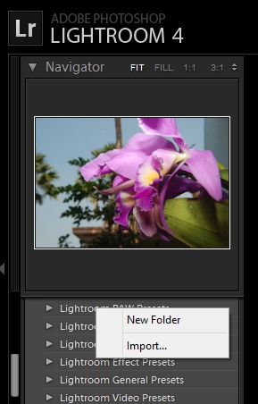 how-to-import-lightroom-presets