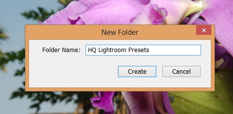 how to delete lightroom presets mac