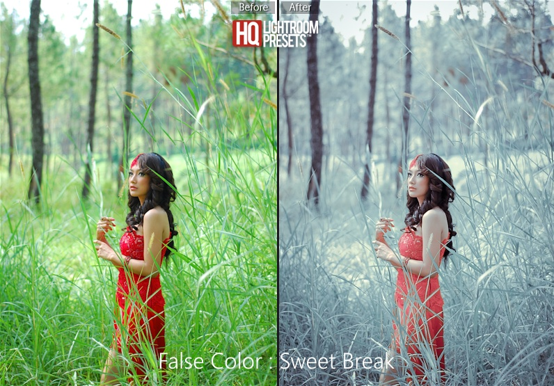 infra-red-false-color-presets