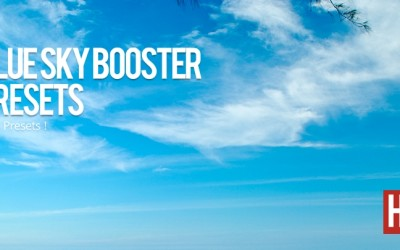 Blue Sky Booster Presets | Nemokama Lightroom Presets