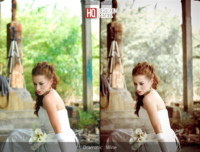 acr presets for wedding