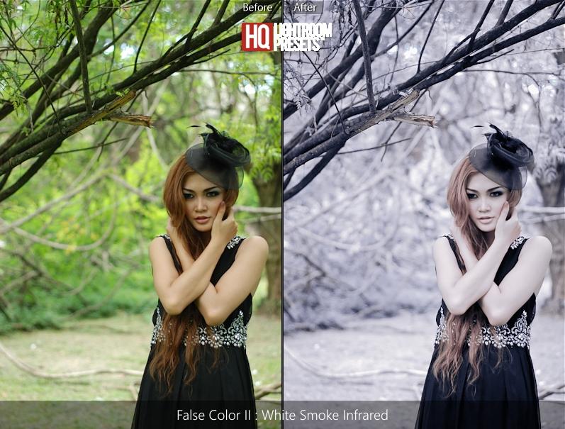 false color tone presets acr