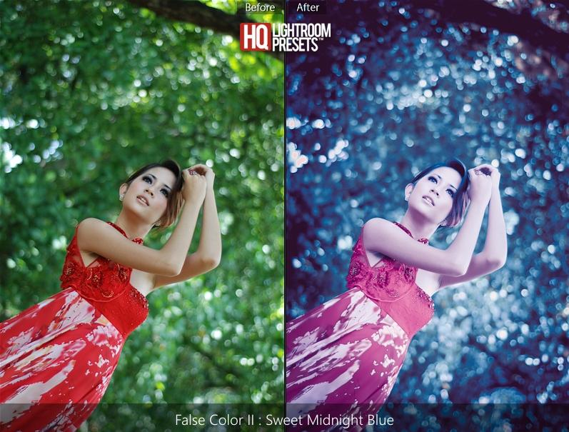 lightroom 5 false color presets