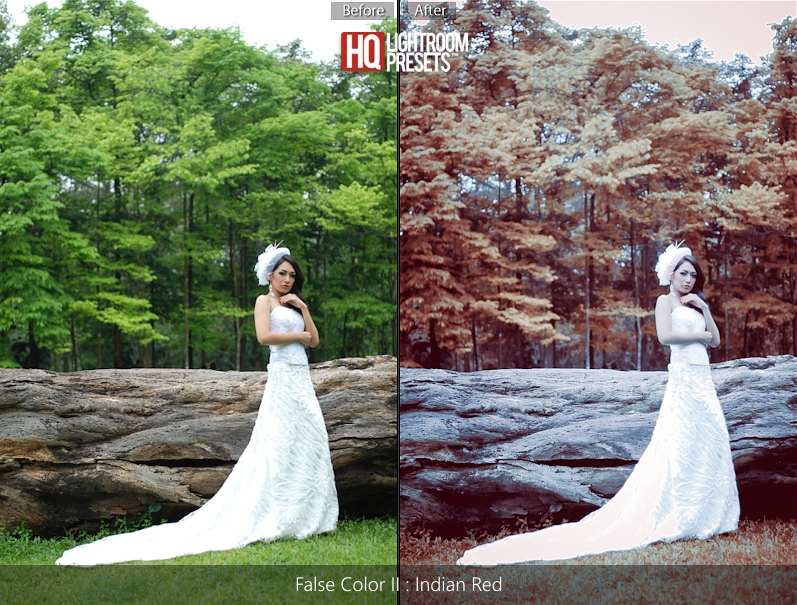 new tone false color