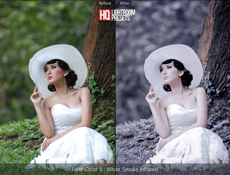 top false color presets for lightroom